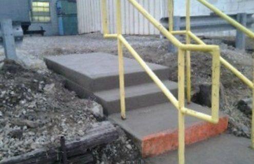 Repairing Concrete Stairs